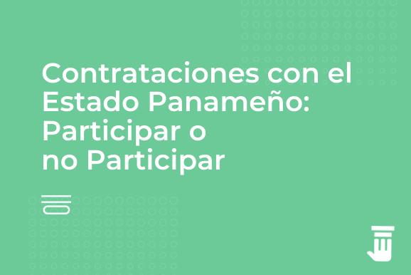 Contratacion con el Estado Panameño